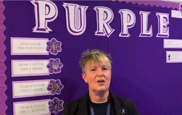 7 Purple - Mrs Hunt & Ms Di Paola