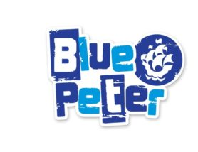 Students receive their Blue Peter Badges!